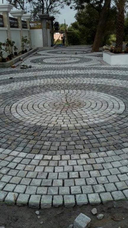 Granite Cobbles Setts
